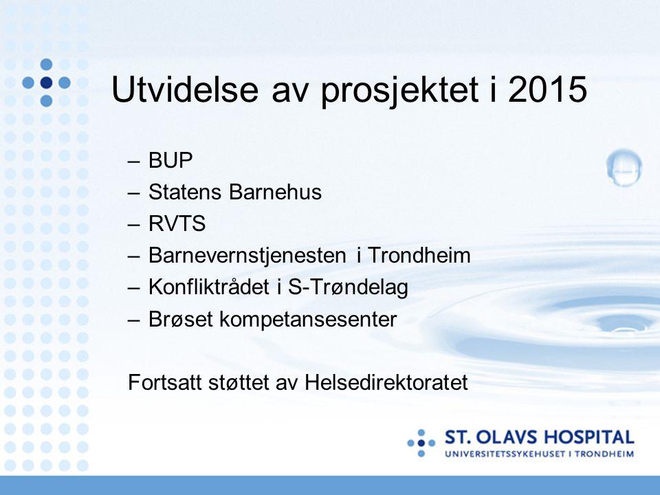 Utvidelse av prosjektet i 2015