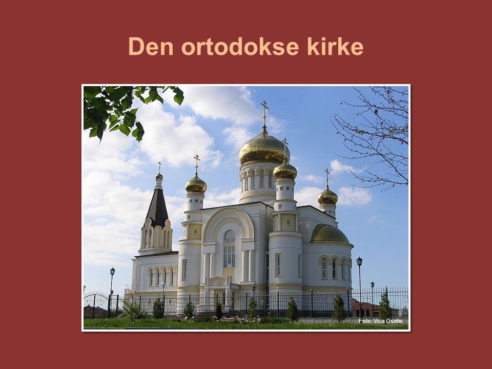 Den ortodokse kirke Bilde: Ortodoks kirke i Russland.