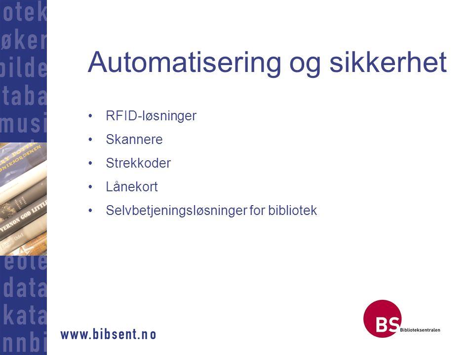 Automatisering og sikkerhet