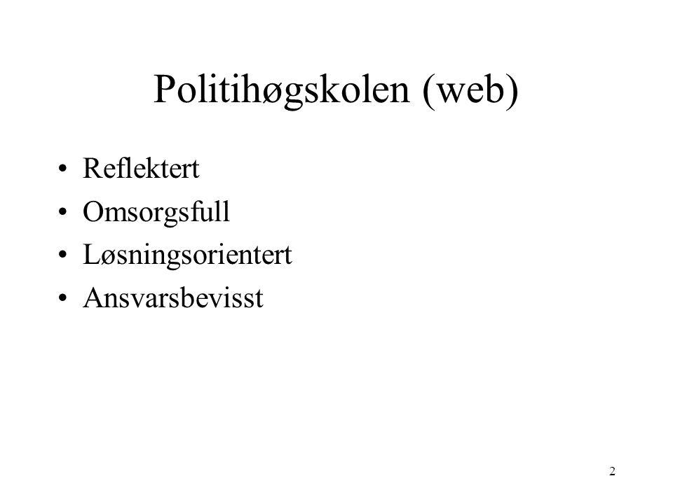 Politihøgskolen (web)