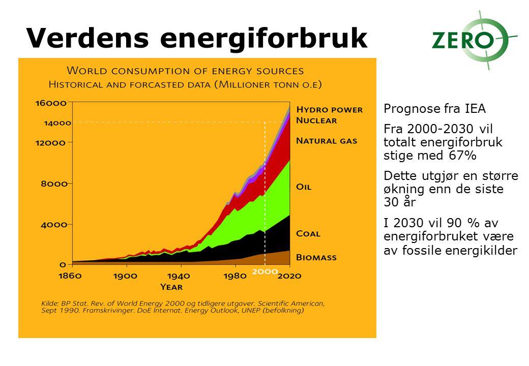 Verdens energiforbruk