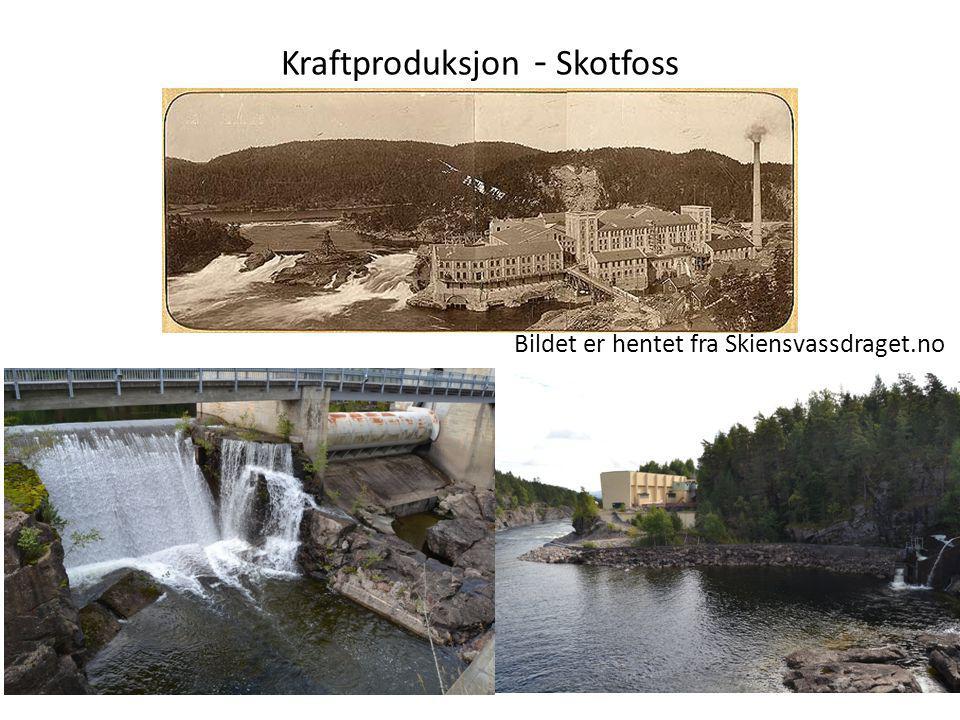 Kraftproduksjon - Skotfoss