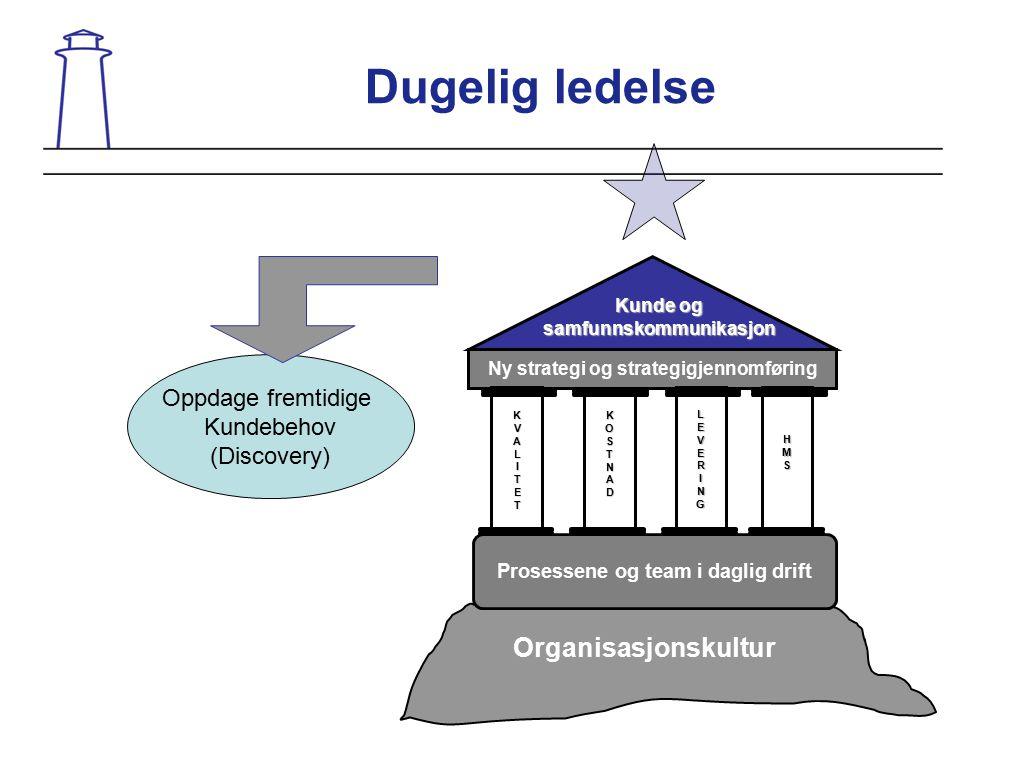 Dugelig ledelse Organisasjonskultur Oppdage fremtidige Kundebehov