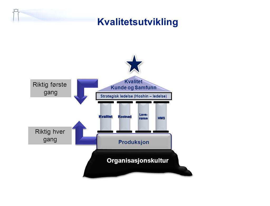 Strategisk ledelse (Hoshin – ledelse)