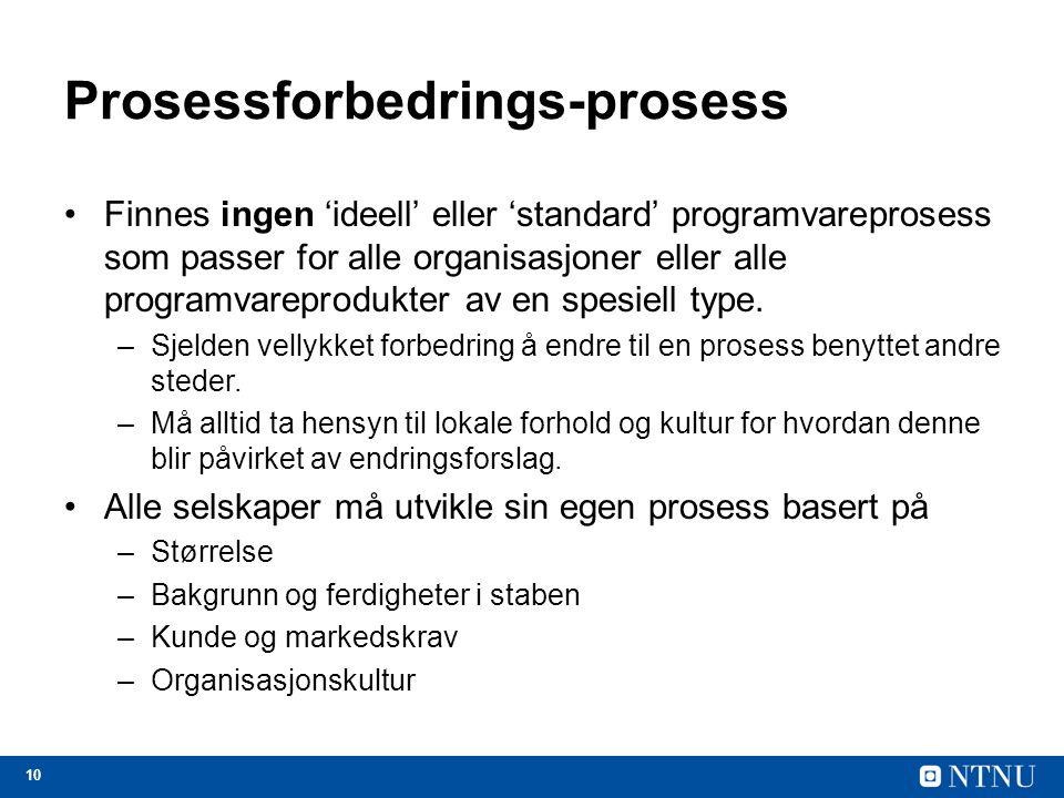 Prosessforbedrings-prosess