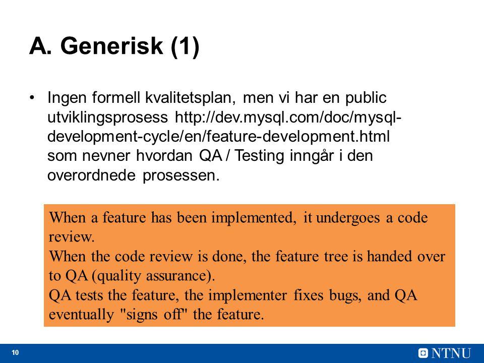 A. Generisk (1)