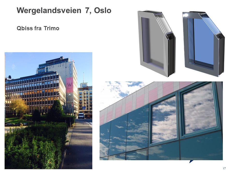 Wergelandsveien 7, Oslo Qbiss fra Trimo
