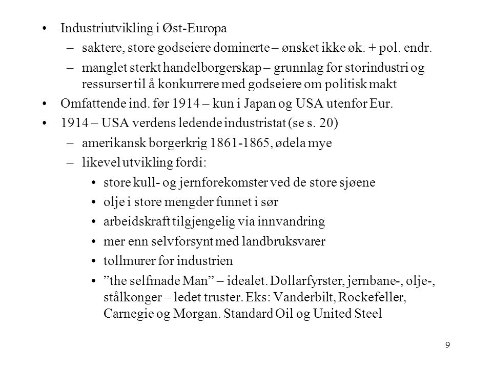 Industriutvikling i Øst-Europa