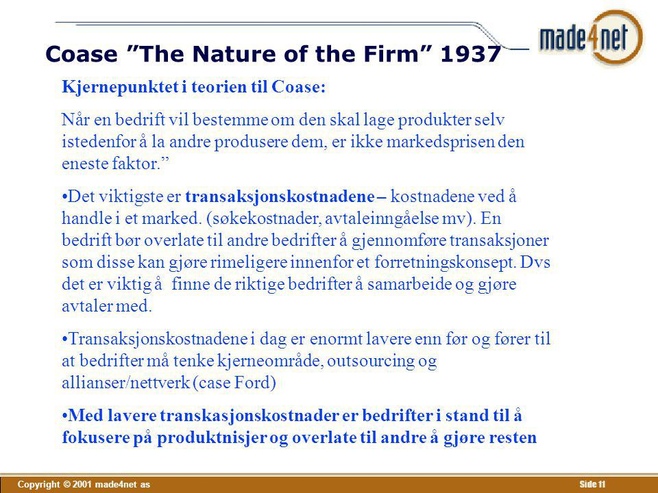 Coase The Nature of the Firm 1937