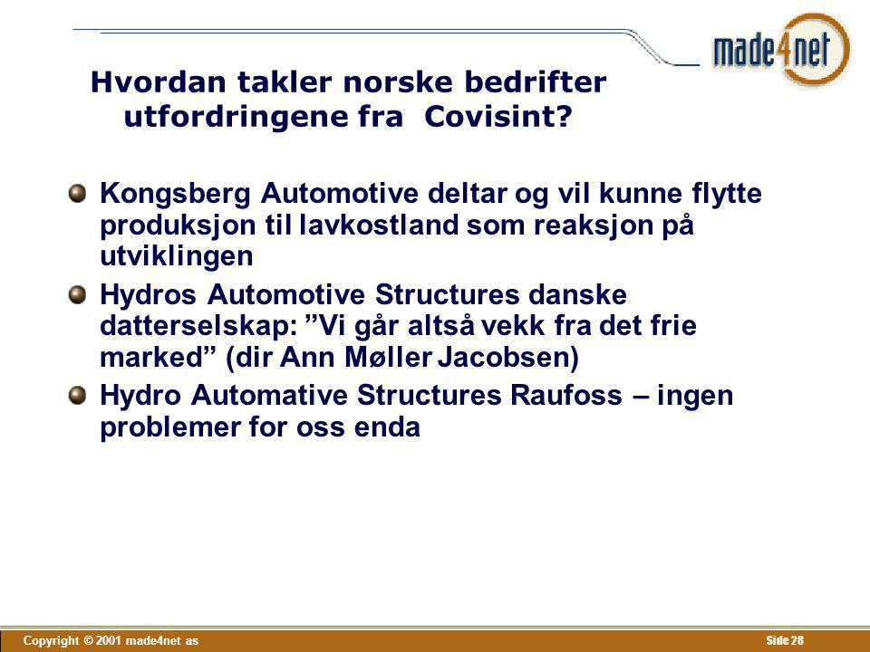 Hvordan takler norske bedrifter utfordringene fra Covisint