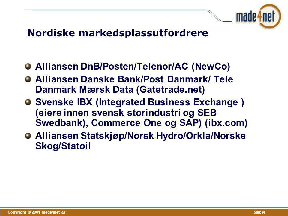 Nordiske markedsplassutfordrere