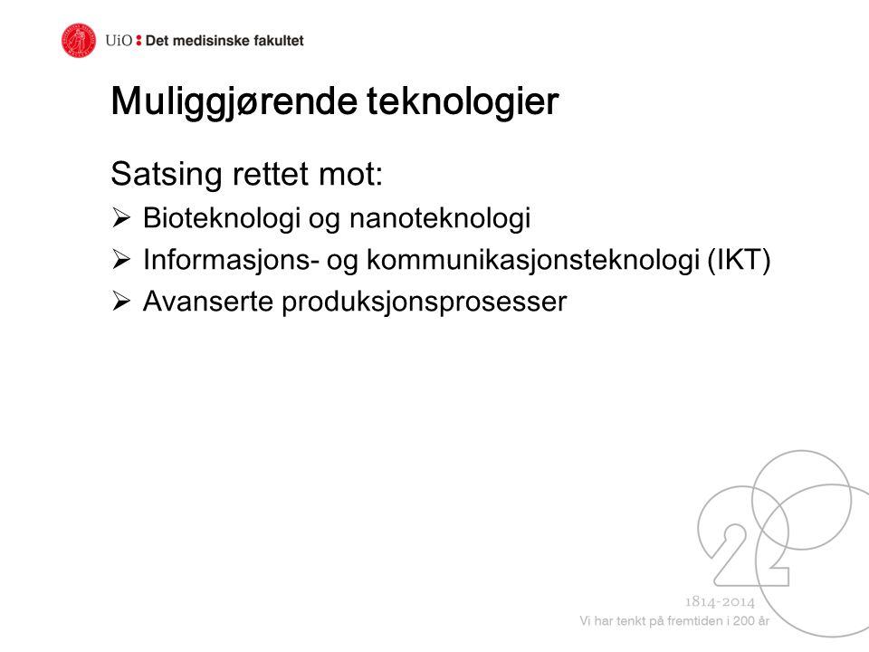 Muliggjørende teknologier