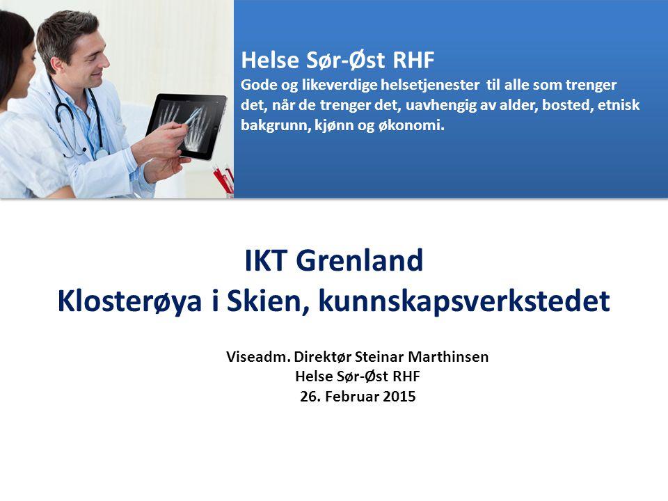 IKT Grenland Klosterøya i Skien, kunnskapsverkstedet