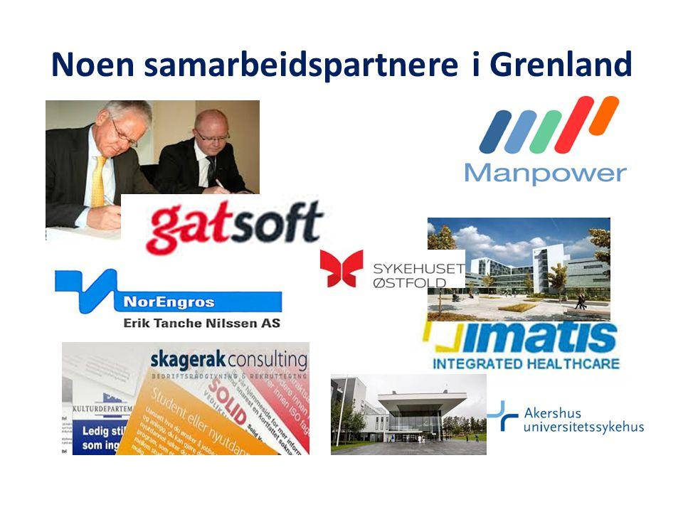 Noen samarbeidspartnere i Grenland
