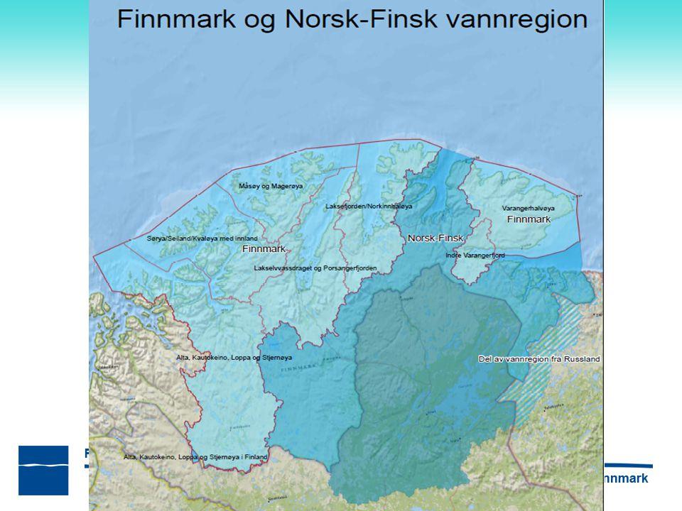 Vannregionene – Finnmark og Norsk-finsk