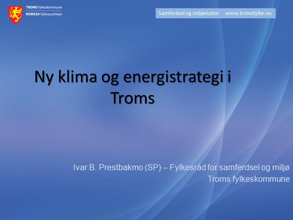 Ny klima og energistrategi i Troms