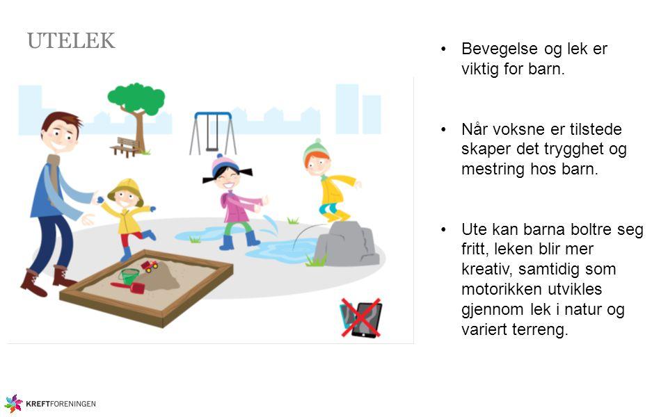 UTELEK Bevegelse og lek er viktig for barn.