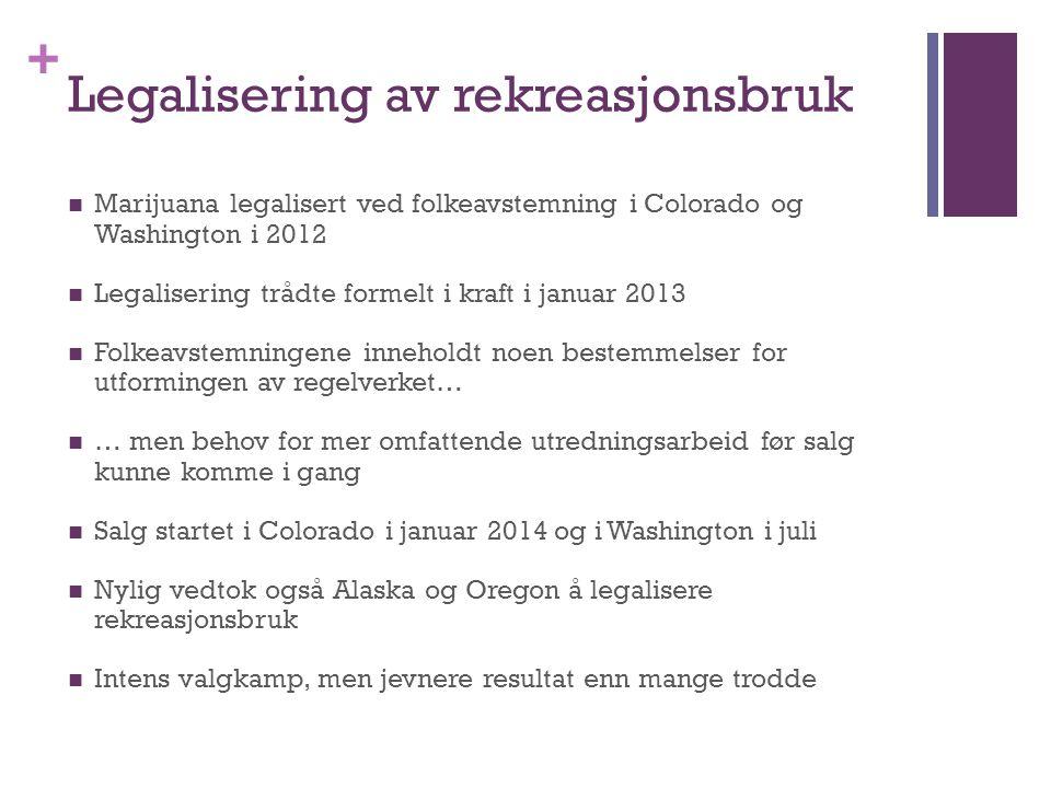 Legalisering av rekreasjonsbruk