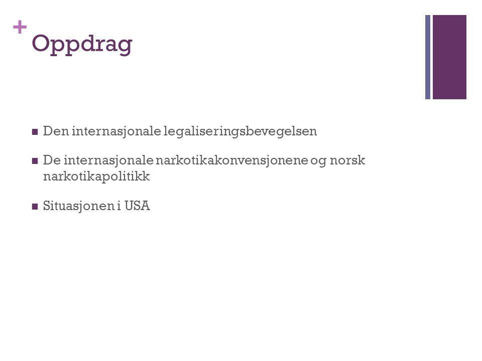 Oppdrag Den internasjonale legaliseringsbevegelsen