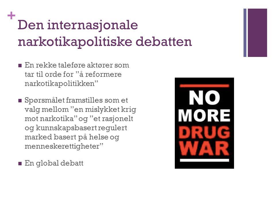 Den internasjonale narkotikapolitiske debatten