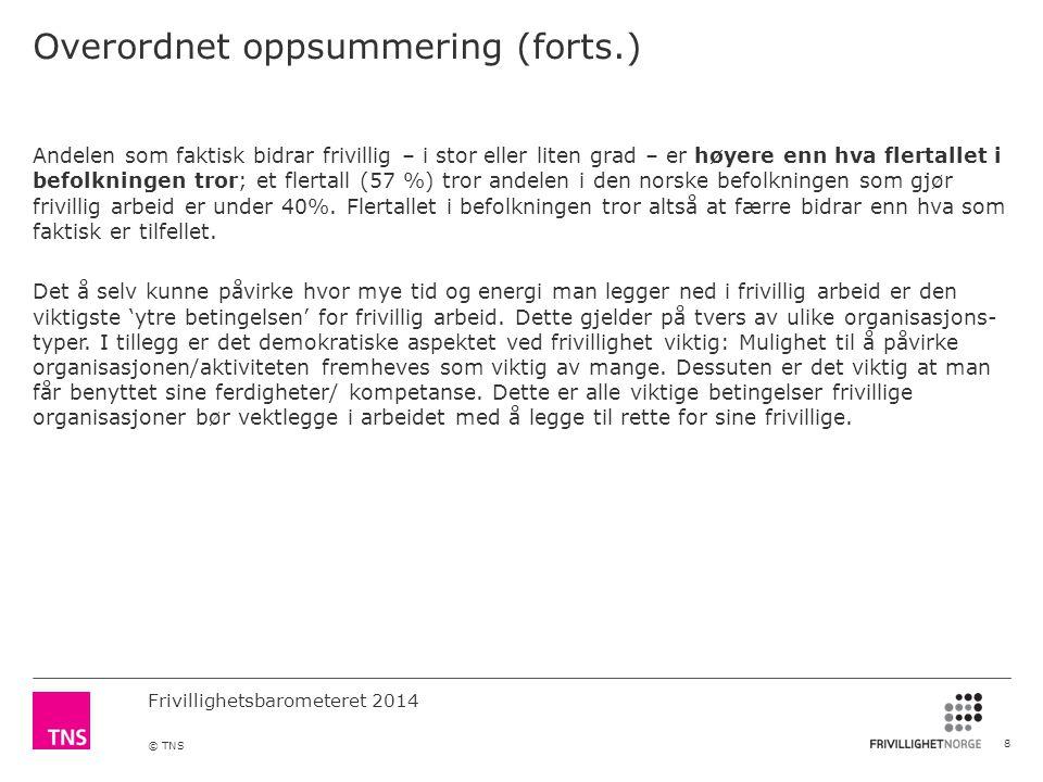 Overordnet oppsummering (forts.)