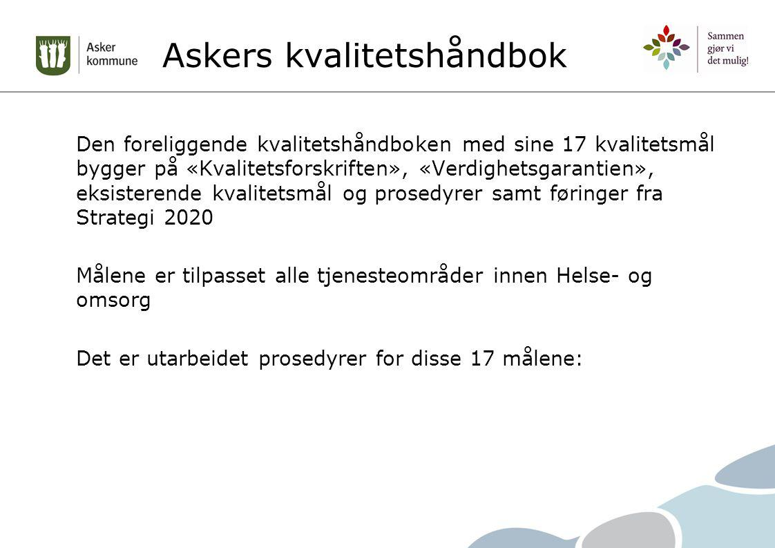 Askers kvalitetshåndbok
