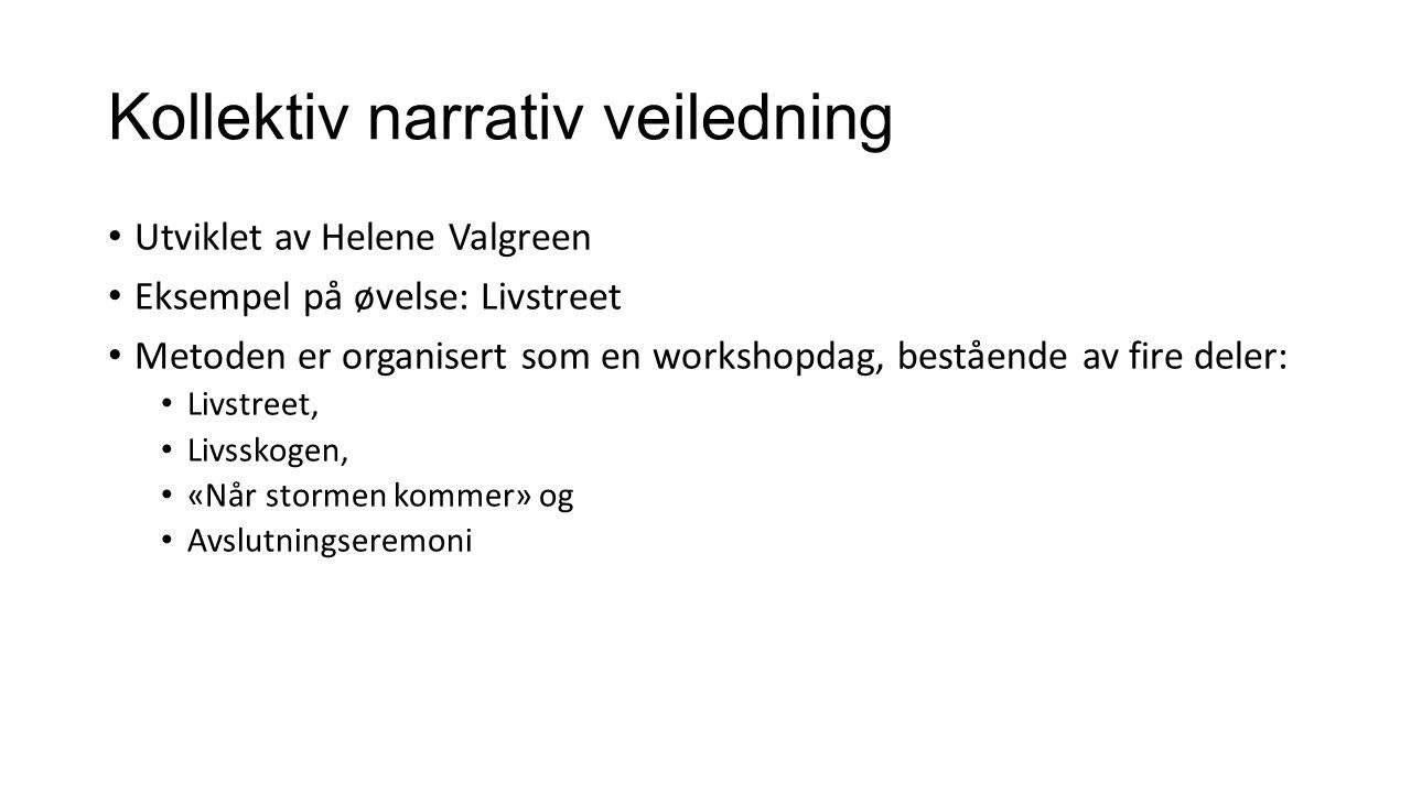 Kollektiv narrativ veiledning