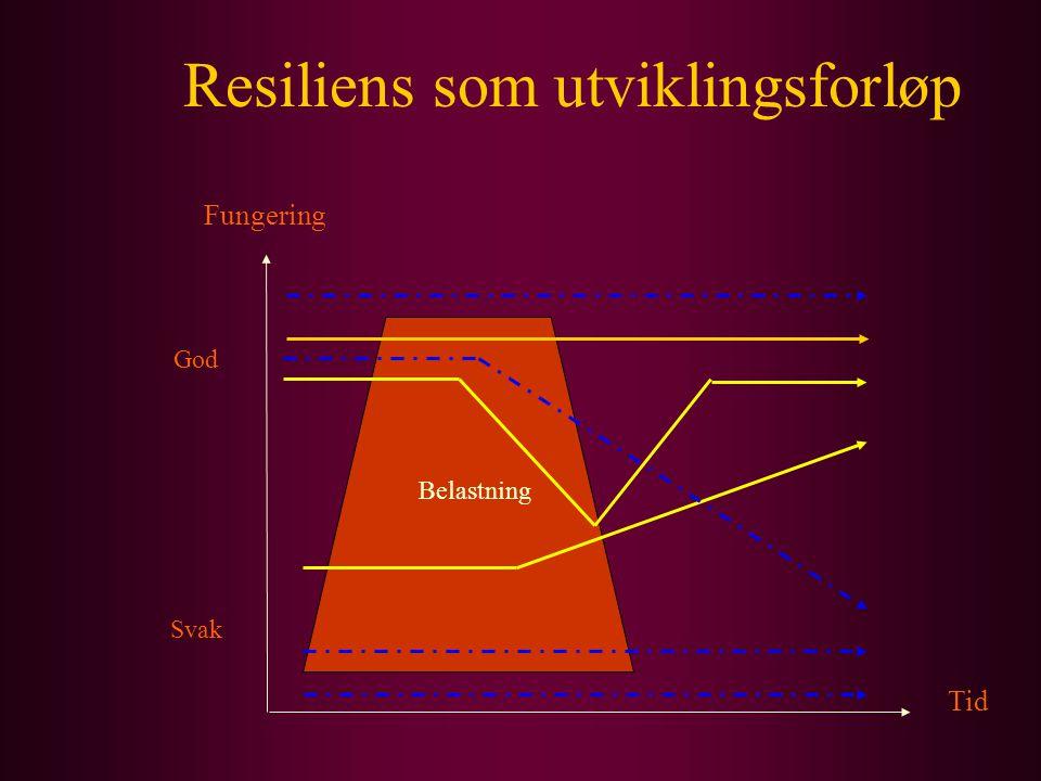 Resiliens som utviklingsforløp