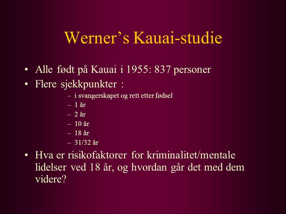 Werner's Kauai-studie