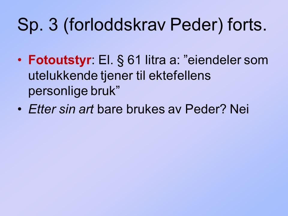 Sp. 3 (forloddskrav Peder) forts.