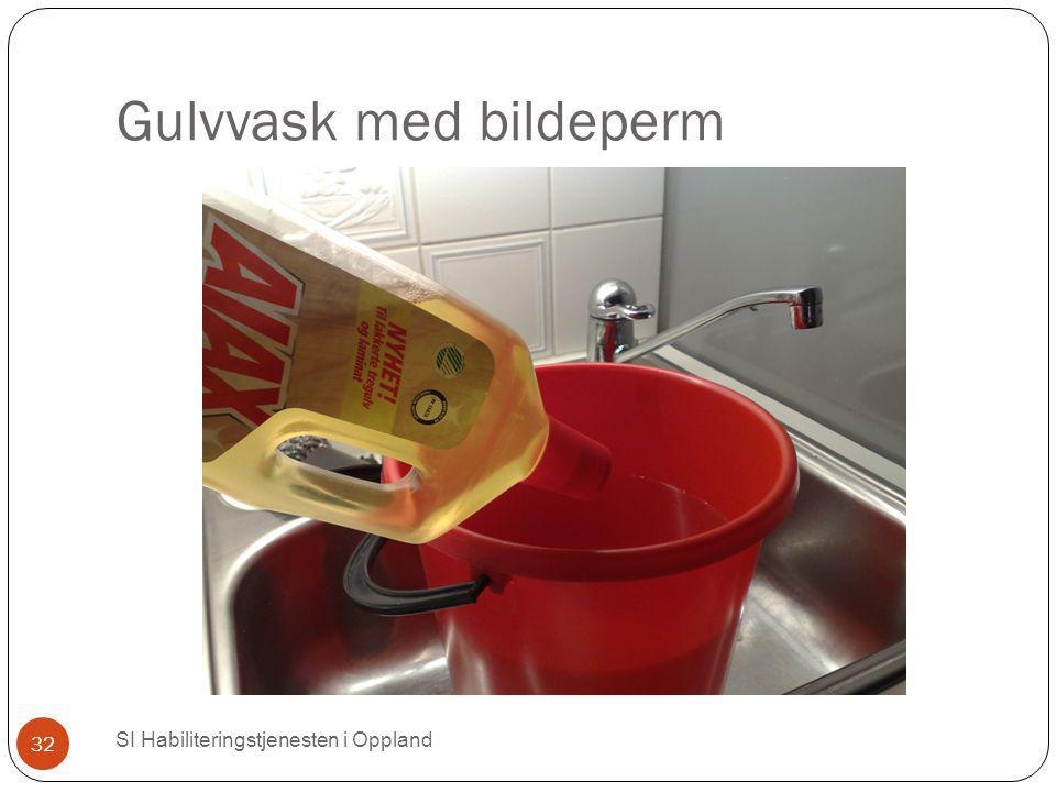 Gulvvask med bildeperm