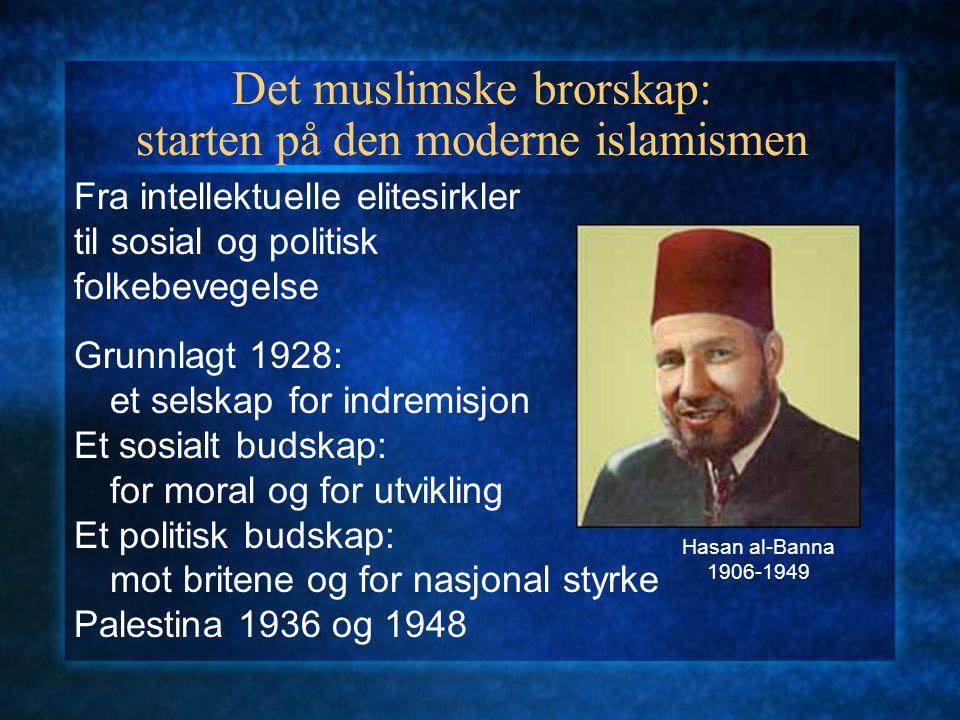 Det muslimske brorskap: starten på den moderne islamismen