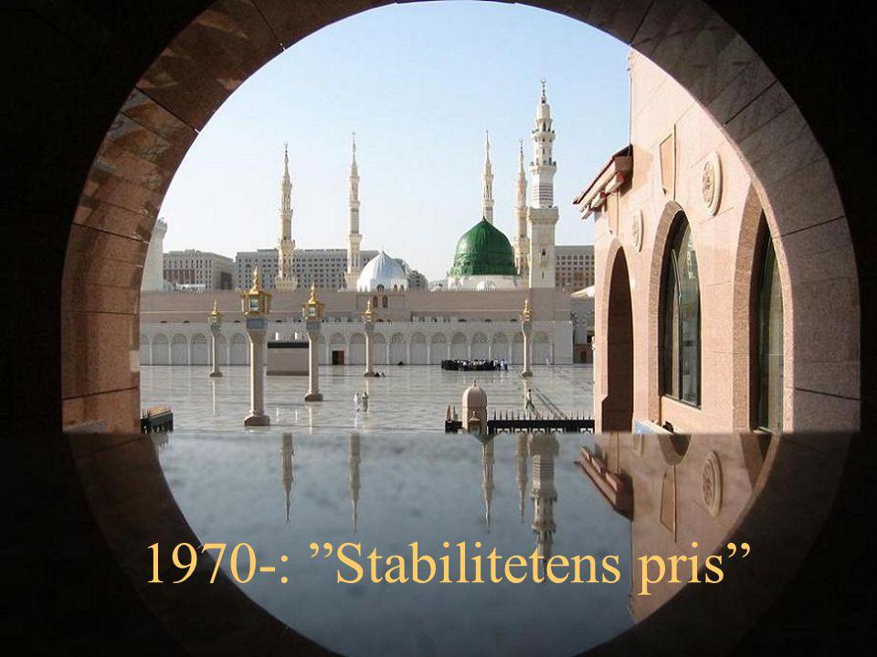 1970-: Stabilitetens pris
