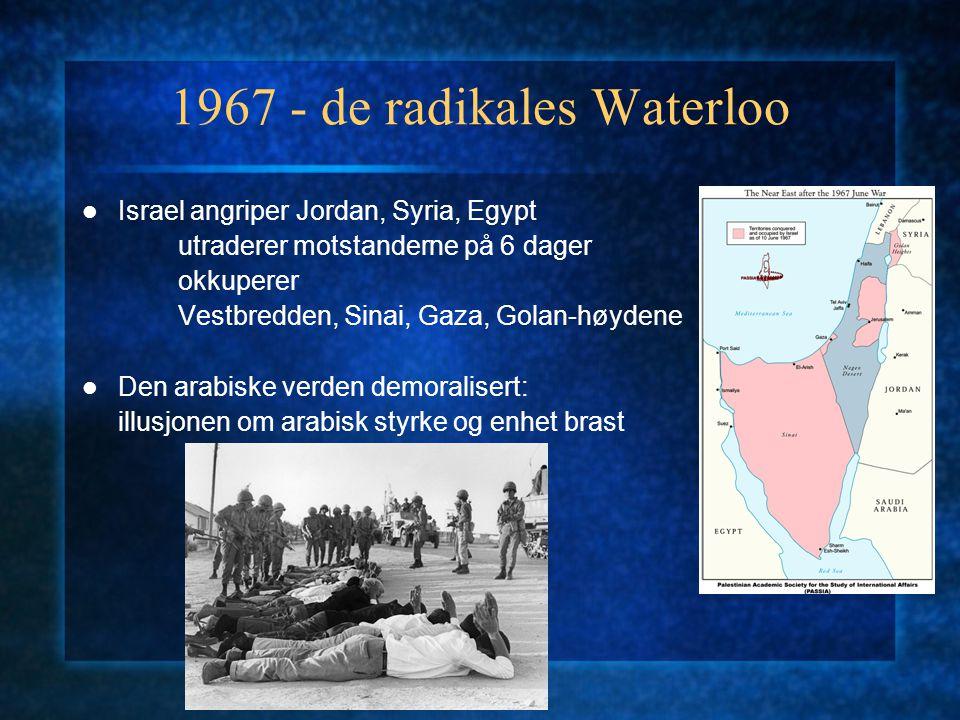 1967 - de radikales Waterloo