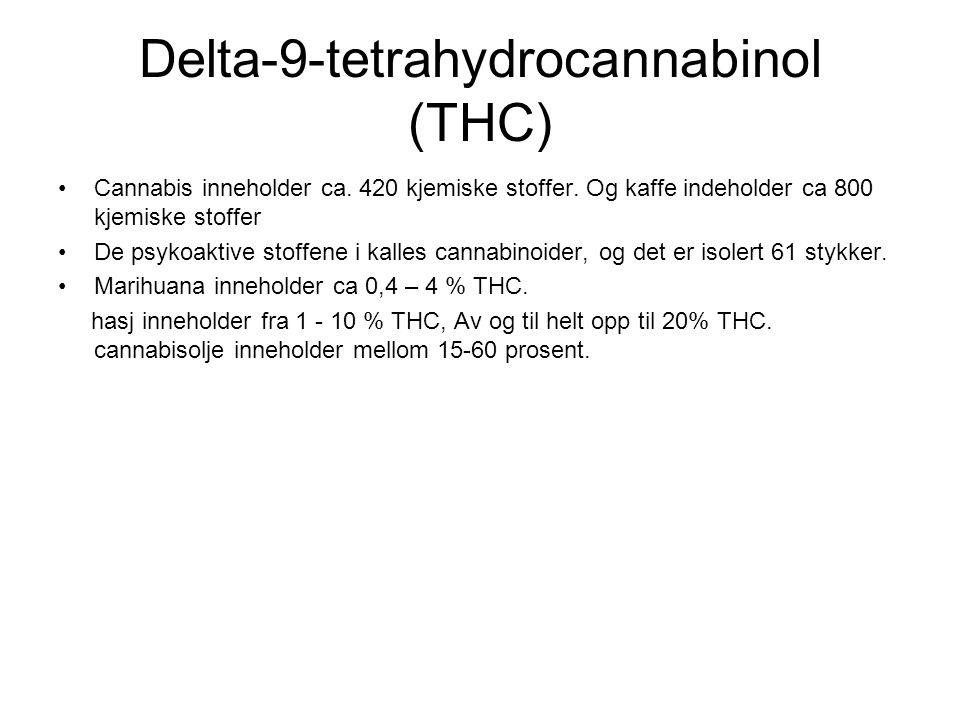 Delta-9-tetrahydrocannabinol (THC)