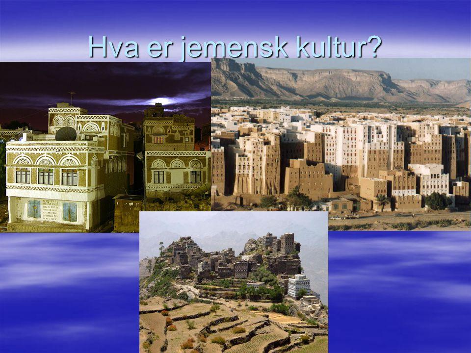 Hva er jemensk kultur