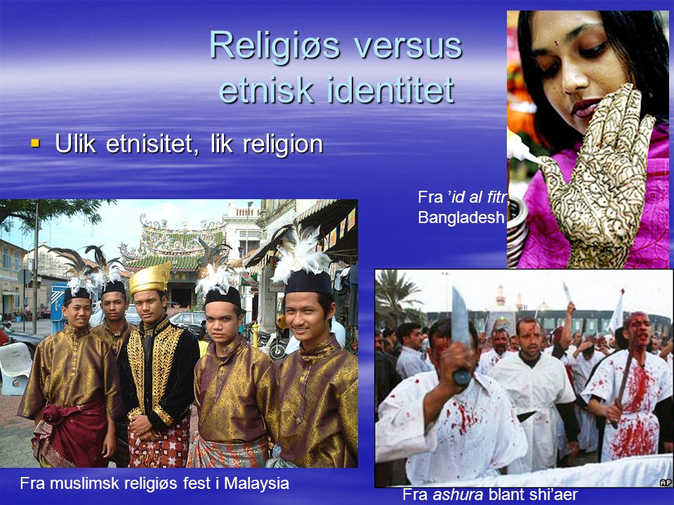 Religiøs versus etnisk identitet