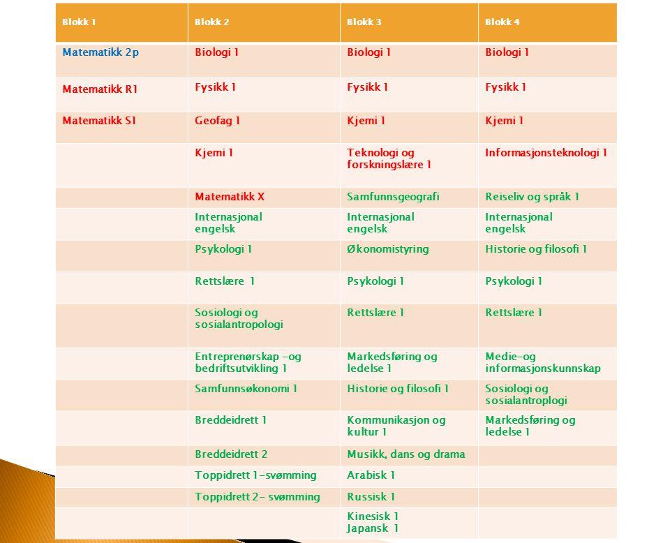 Teknologi og forskningslære 1 Informasjonsteknologi 1