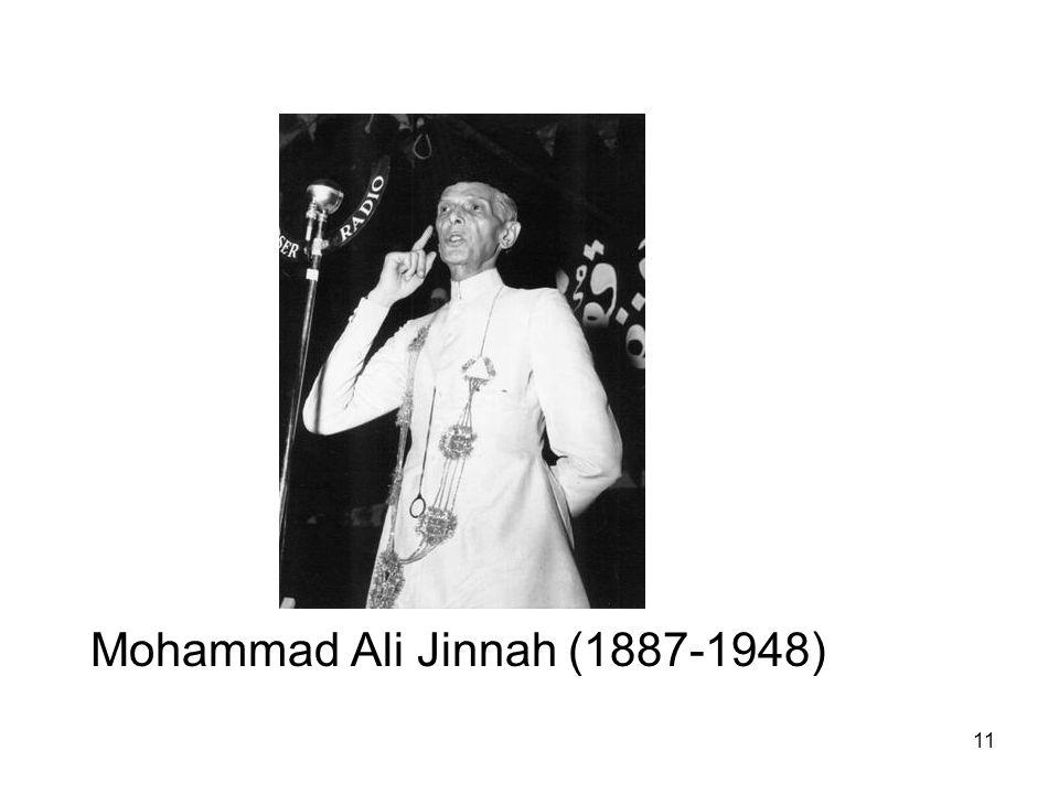 Mohammad Ali Jinnah (1887-1948)