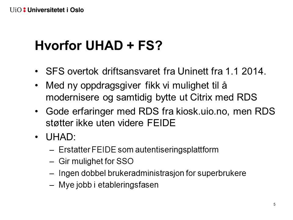 Hva er UHAD Active Directory uten direkte organisasjonstilhørighet