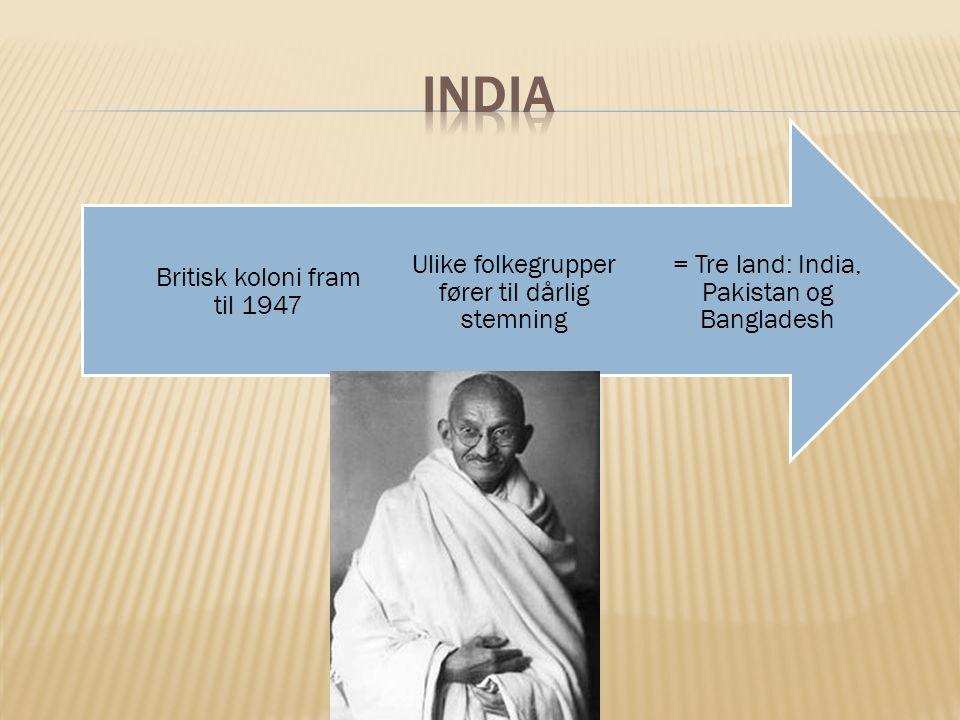 India Britisk koloni fram til 1947