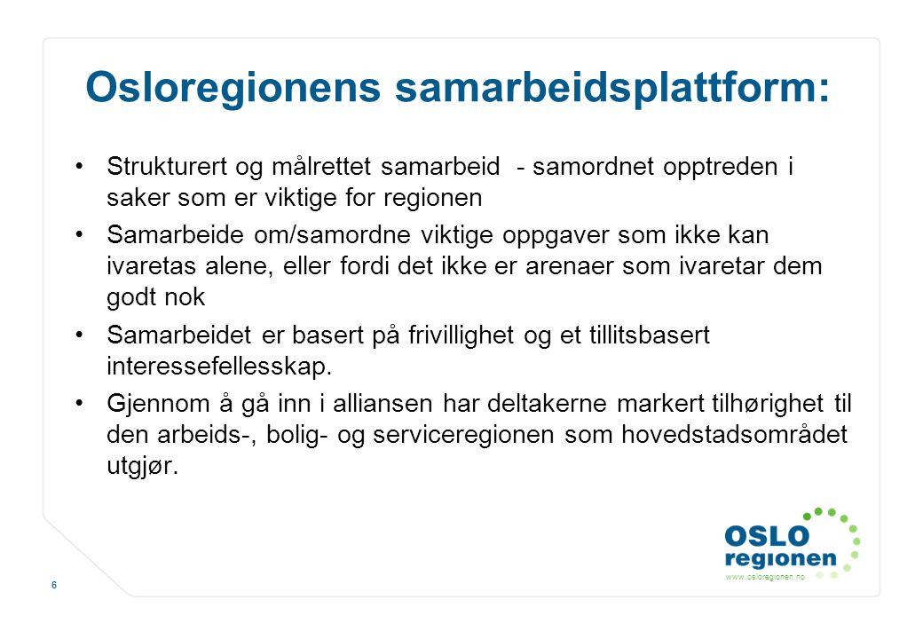Osloregionens samarbeidsplattform: