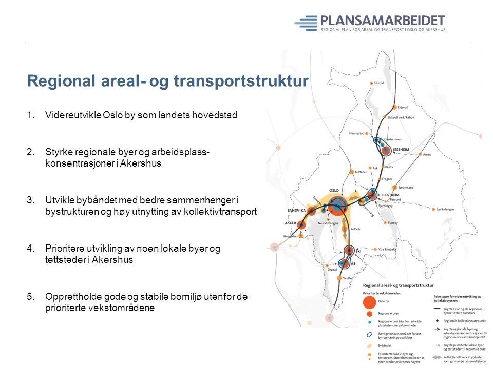 Regional areal- og transportstruktur