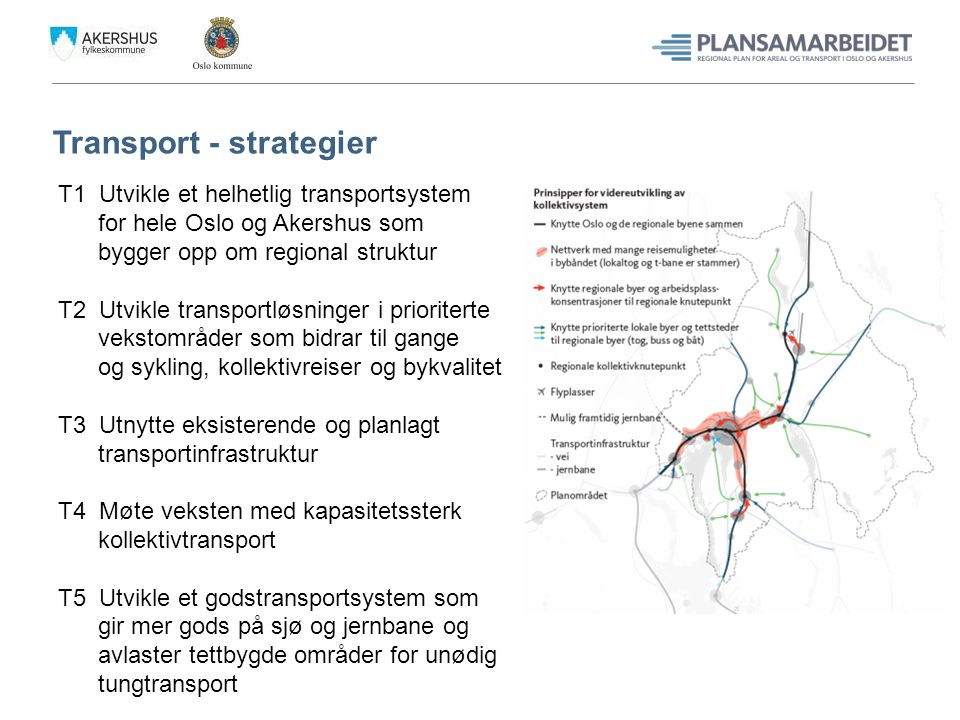 Transport - strategier