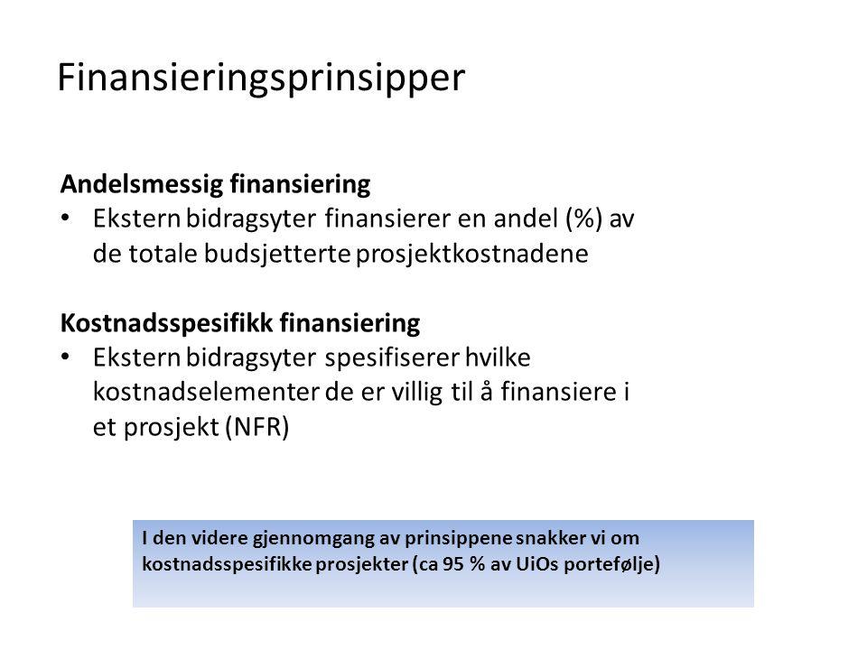 Finansieringsprinsipper
