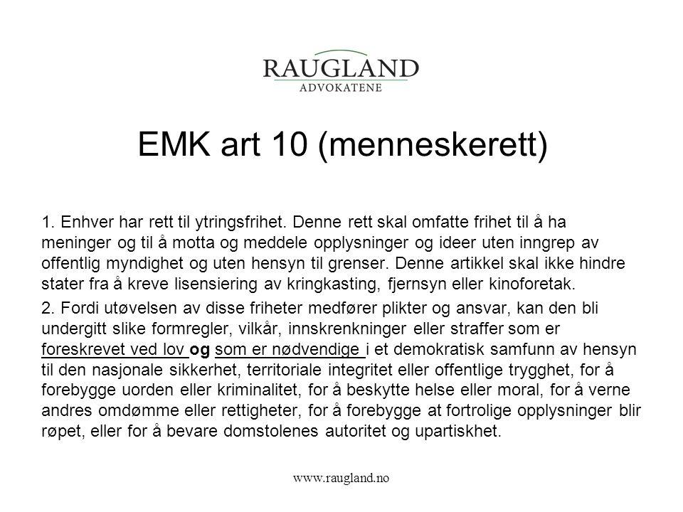EMK art 10 (menneskerett)