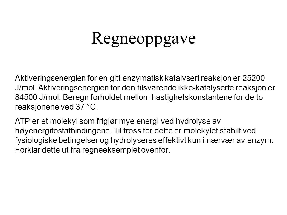 Regneoppgave