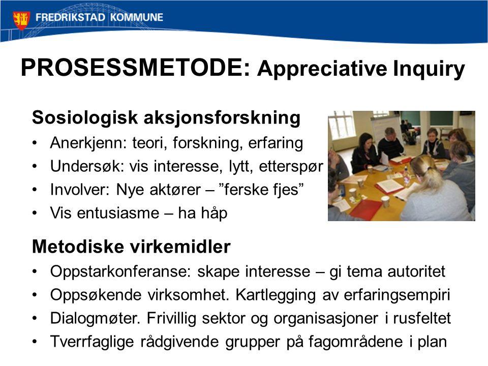 PROSESSMETODE: Appreciative Inquiry