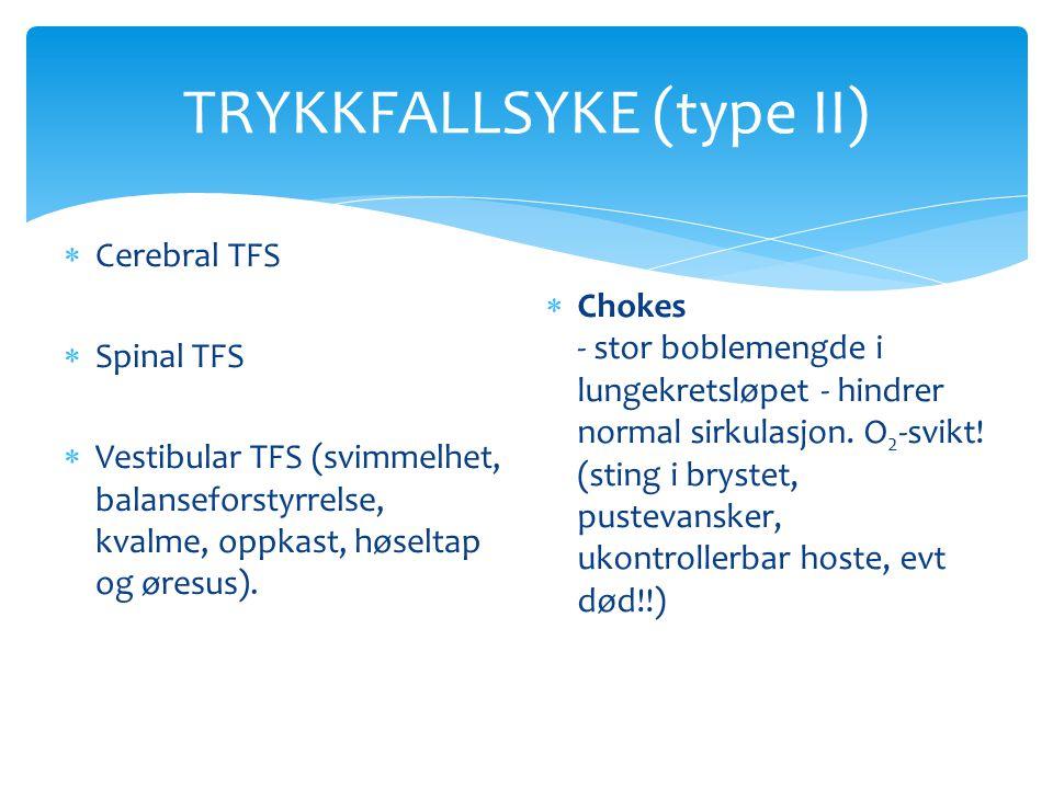 TRYKKFALLSYKE (type II)