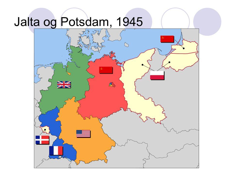 Jalta og Potsdam, 1945